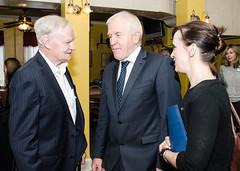 Minister Deenihan with Declan Forde