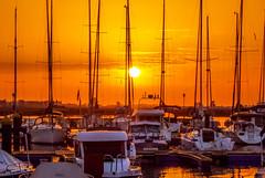 Atardecer en Punta del Moral - Huelva (Nati Almao1) Tags: sol puesta viajeaplayacanela