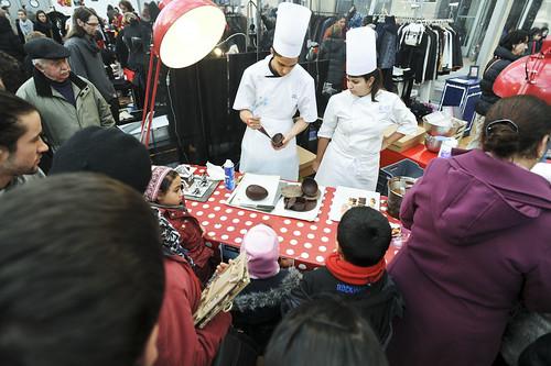 Foire des Savoir-Faire Solidaires 2013, atelier cuisine © M. RONDEL