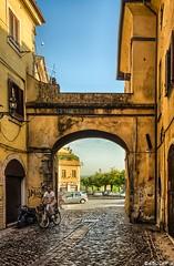 L'arco di San Rocco / Saint Rocco's Arch (Abulafia82) Tags: city autumn urban italy color fall colors landscape landscapes ital