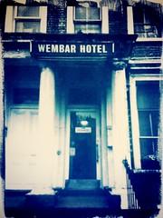 (Paula Pozzan) Tags: blue london print hotel tintype process toned alternative cyanotype alternativeprocess digitalnegative altprocess cianotipia wembar