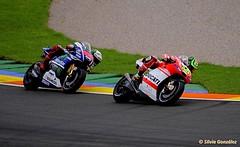 Lorenzo y Crutchlow, carrera MotoGP