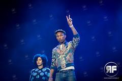 Pharrell Williams (RobertoFinizio) Tags: music netherlands festival concert dancer singer actor adidas producer poprock songwriter pharrellwilliams rhythmandblues pinkpopfestival megaland poprap robertofinizio landraaf pinkpop2015 robifinizio