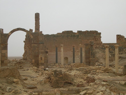 Vue de Qasr al-Hyre al-Charqui (Syrie)