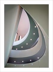 Museo Novecento Milano (ximo rosell) Tags: ximorosell color composició nikon d750 detall buildings arquitectura architecture abstract milan italia interiors museu