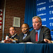 New York City Mayor Bill de Blasio and Police Commissioner James O'Neill announce a decrease in overall crime in New York City during Crime Stats on Randall's Island on Monday April 3rd, 2017. Edwin J. Torres/Mayoral Photo Office.