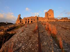 Castello Cleto Cs (Arcieri Saverio) Tags: cleto cs cosenza italy castello tramonto medieval storia medioevo castle nikon sky rosso red rouge sun sunset architecture cultura historic