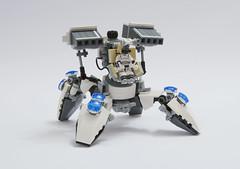 TST-17Y01 (Faber Mandragore) Tags: lego moc sci fi mech tachikoma thinktank tst17y01 tanksuit cyberpunk gits ghost shell
