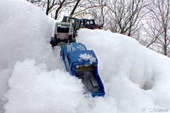 170405-09 Toy Jeep (clamato39) Tags: macro jeep toys jouets auto neige snow hiver winter