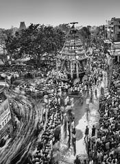 Crowds (Padmanabhan Rangarajan) Tags: mylapore kapaleeswarantemple chariot carfestival chennai india festival crowds