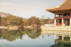 Gyeongbokgung Palace (cattan2011) Tags: korea travelphotography travel natureperfection naturephotography nature gyeongbokgungpalace mountainscape mountains waterscape landscapephotography landscape southkorea