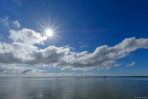 Clouds above the Wadden Sea