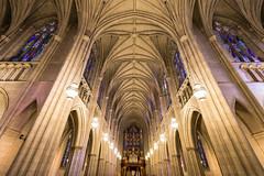 Duke Chapel Wide Angle (nydavid1234) Tags: nikon d600 nydavid1234 duke dukechapel chapel cathedral church dukeuniversity durham arches architecture stainedglass icon landmark northcarolina bluedevils goduke symmetry