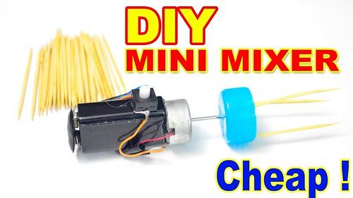 How to make a mini mixer [ Coffee and Egg Mixer ]