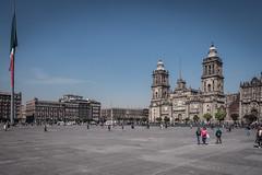 Mexico City Metropolitan Cathedral and Zocalo-2