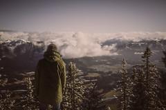 UP (Regus22) Tags: wandern bergsteigen hiking sport vital man canon eos 5d ef 1740mm berge alpen alps green clouds rural matt