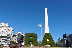 BA (bsupranzetti) Tags: obelisco obelisc ba buenosaires argentina 9dejulio flag bandera bandeira