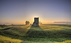 Knowlton in the morning (Nick L) Tags: knowlton knowltonchurch neolithichenge neolthic dorset uk dawn sunrise church landscape outdoor 1635lii canon5d3 eos
