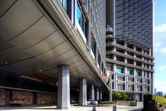 Palace Hotel Tokyo (@ND) Tags: palacehoteltokyo パレスホテル tokyo japan palacehotel パレスホテル東京 エントランス hdr tse17mmf4l canon eos6d chiyodaku building shift architecture