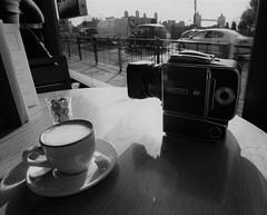 Breakfast in London (explore) (Carlos Lubina) Tags: london towerbridge hasselblad blackandwhite stilllife coffee 7dwf 52stlllifes