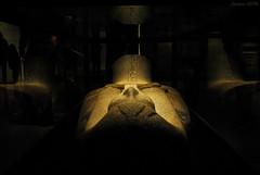 Sarcófago / Sarcophagus (Javiera C) Tags: santiago chile egipto egypt museo museum exhibición exhibition antiguo antique civilización civilization indoor interior sarcófago sarcophagus pharaoh faraón piedra stone