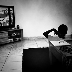 Watching TV (Ansanshi) Tags: social ansanshi people tv boy