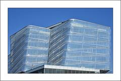 Bubble Building,Czech Institute of Informatics, Robotics and Cybernetics (CIIRC) (prendergasttony) Tags: foil blue sky university prague tower glass outdoors nikon d7200 history angle artistic petrfranta modern