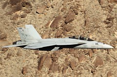 PROFESSIONALISM & LOYALTY (Dafydd RJ Phillips) Tags: vfa122 lemoore station air naval f18 hornet united states navy usa us strike fighter squadron death valley star wars canyon jedi transition rainbow