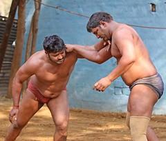 "Kushti Wrestling (grab a shot) Tags: ""eos 7d mark ii"" india newdelhi gurujasramjisakhara akhara kushti wrestling wrestle wrestler 2017 sport gym outdoor sand male men"