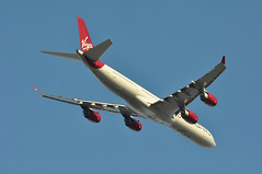'VS9M' (VS0009) LHR-JFK (A380spotter) Tags: takeoff departure climb climbout belly airbus a340 600 gvgas vargagirl 2010revisedlivery 2010revisedcolours 2010revisedcolourscheme bellytitles virginatlanticairways vir vs vs9m vs0009 lhrjfk runway09r 09r london heathrow egll lhr