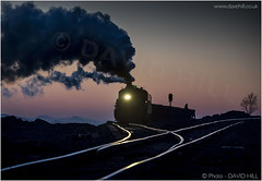 Last Light On Fuxin (channel packet) Tags: china steam train railway railroad sy locomotive coal mine sunset smoke evening rails davidhill