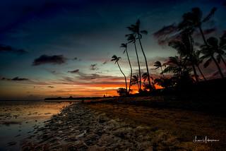 Sunset @ Kuliouou Beach Park