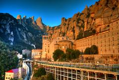 Montserrat Morning (hapulcu) Tags: catalan catalogne catalonia catalunya cataluñacatalan espagne espanha españa ispanya mediterranean montserrat spain spania spanien monastery winter