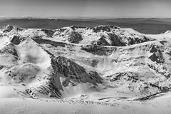 Rila Mountains - Bulgaria (Georgi C) Tags: fujifilmx100t rila mountains bulgaria bulgarian blackandwhite landscape land bw nature snow snowy peaks