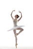ballerina (gordonheng) Tags: dance dancer dancing ballet ballerina silhouette highkey white tutu slipper tiptoe jump leap jumping artist traditional classical theatrical balance woman female girl attractive beautiful cheerful behavior exercise exercising action moving performance cool elegance grace sensuality performer pose posing agility flexibility young active color one vertical studio