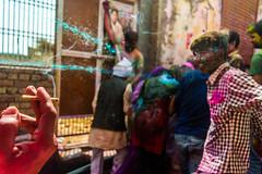 Mischievous or Harassment ? 1 of 2 | Streets of Nandgaon,Mathura. (vjisin) Tags: holi colours springfestival india incredibleindia indianheritage asia nikond3200 nikon action nandgaon mathura uttarpradesh brajholi joy temple surreal people happiness iamnikon festival streetphotography indianstreetphotography street girls women