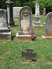 John T. Bronaugh (Photo Squirrel) Tags: cemetery warrentoncemetery warrenton virginia confederate civilwar grave gravestone gravemarker graveyard headstone tombstone memorial monument