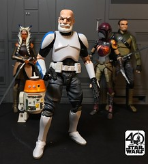 "Custom SWBS 6"" old Captain Rex (chevy2who) Tags: capt captainrex captain figure action toy inch six rebels wars star starwarscustom custom rex customrex"