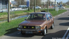 Renault 20 TL 1977 (XBXG) Tags: 43yb90 renault 20 tl 1977 renault20 r20 wormerveer nederland holland netherlands paysbas vintage old classic french car auto automobile voiture ancienne française vehicle outdoor