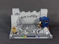 War Doctor - No More (ElderonEldar) Tags: doctor who tardis day dalek sonic screwdriver no more gallifrey
