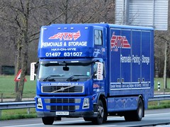 Volvo FM rigid from ATK Hay-on-Wye United Kingdom (capelleaandenijssel) Tags: gn06 pgf removals storage packaging gb england truck trailer lorry camion lkw