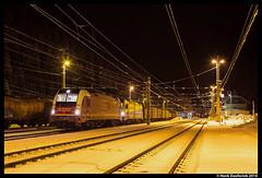 Salzburger Lokalbahn 91, Böckstein 09-11-2016 (Henk Zwoferink) Tags: badgastein salzburg oostenrijk slb böckstein henk zwoferink tauern 91 1216 940 930 cargoserv salzburger lokalbahn siemens es64u4 staaltrein