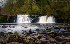 Linn Park Waterfall (Kai Hannah) Tags: spring water falls fall panasoniclumix photography photo lumix panasonic waterfall linnpark glasgow linn park netherlee white cart river scotland southside
