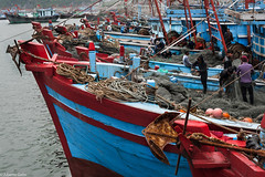 Fishermen (albertlondon) Tags: vietnam mekongriver fishermen fishingvillage halongbay saigon hanoi boats fishing