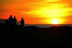 God of Oceans tides ...... (Livesurfcams) Tags: sunset nikon d800 orange red wavewatchers abbotshamcliffs