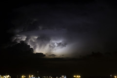 Storm (Askjell) Tags: maritime night offshore ships singapore anchorage storm tropical