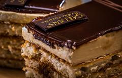 Javanais (phil1496) Tags: glaze macromondays javanais gâteau pâtisserie yummy hmm food glaçage