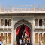 India (Jaipur-City Palace) Entrance arch to the palace thumbnail