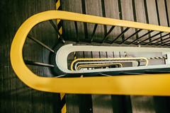 Hamburg stairs (michael_hamburg69) Tags: hamburg germany deutschland thalia theater theatre fotoexkursion vhs hinterdenkulissen klasseworkshopmitpeter peterbruns treppe stairs gelbestreppenhaus yellow gelb geländer