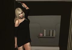 Hotel bathroom (Opale Lily) Tags: bathroom truth lagyo secrets fufantasyundergroundstore ilaya lt blond shower